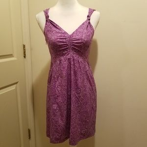 Athleta*Nearly Nautical*Dress Sz 4 EUC!